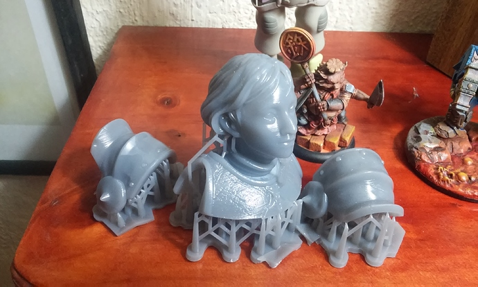 Joan of Arc bust – 3D printed
