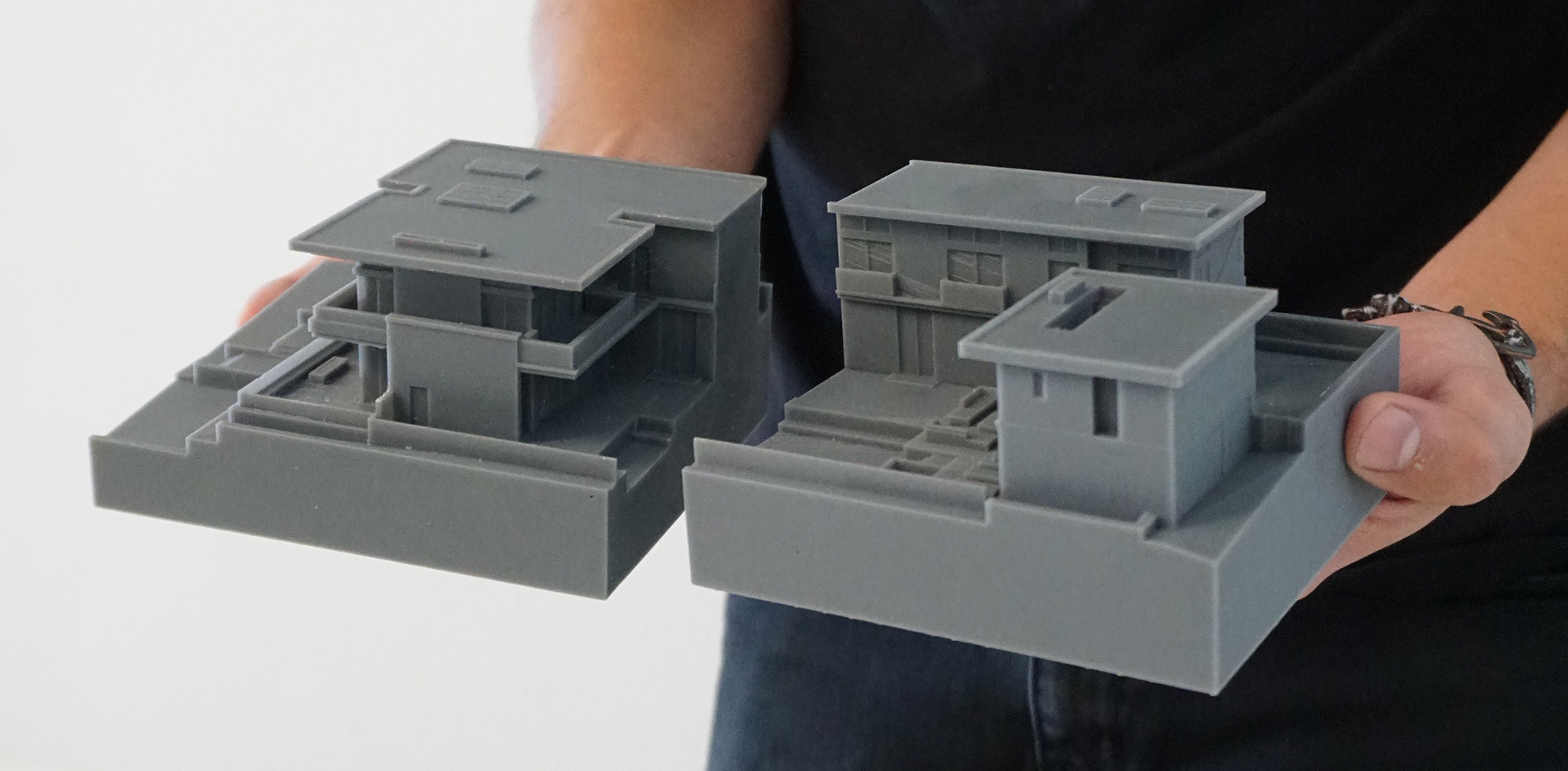 An architectural model