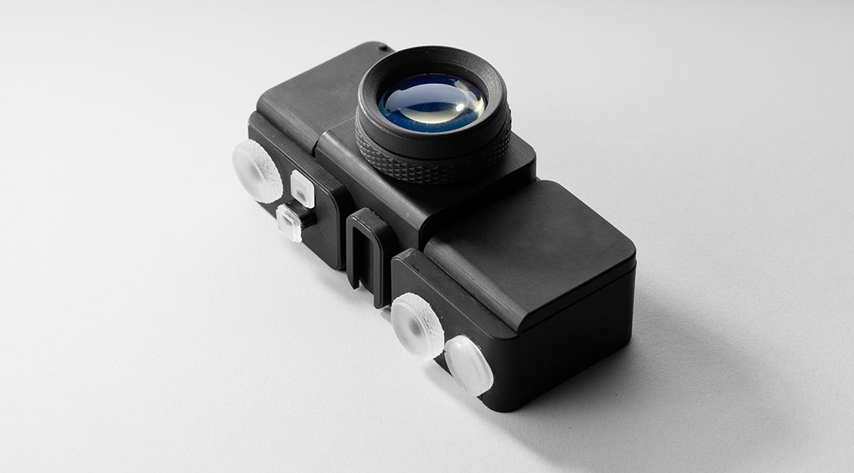 A 3D printed camera