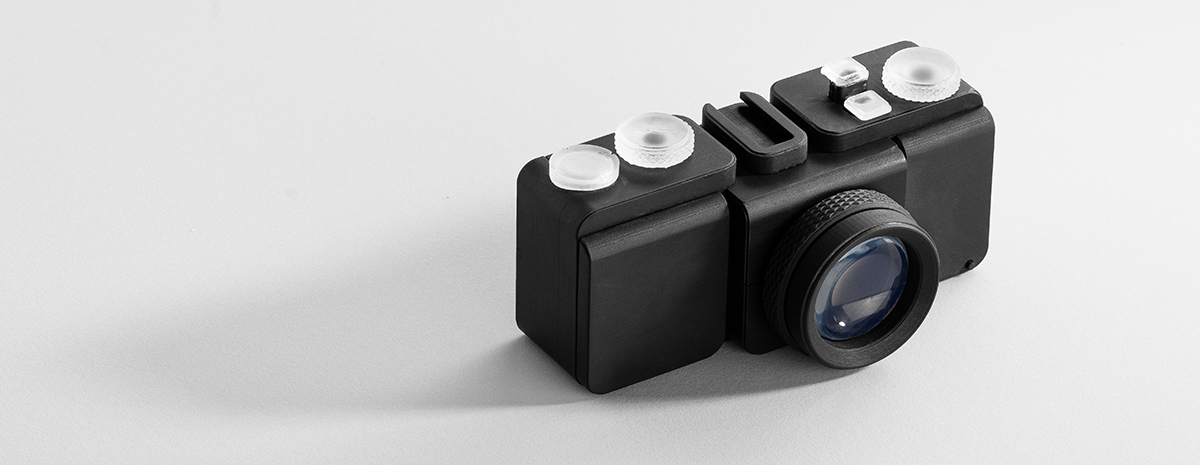 A fully 3D printed camera