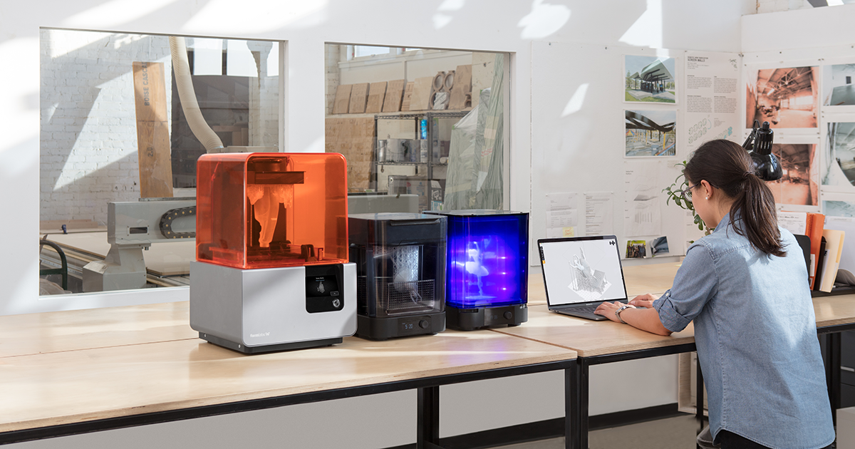 High Resolution SLA and SLS 3D Printers for Professionals