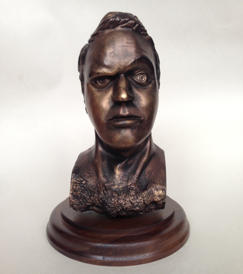 Copper Bust of Matt Burniston