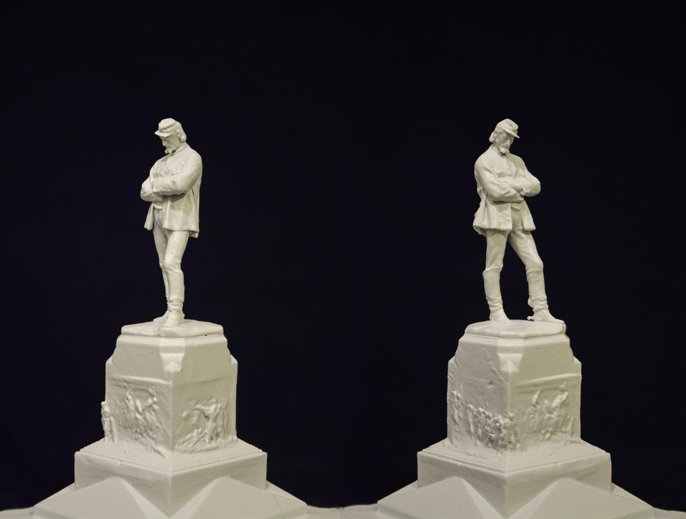 Giuseppe Sirtori statue by Mattia Mercante