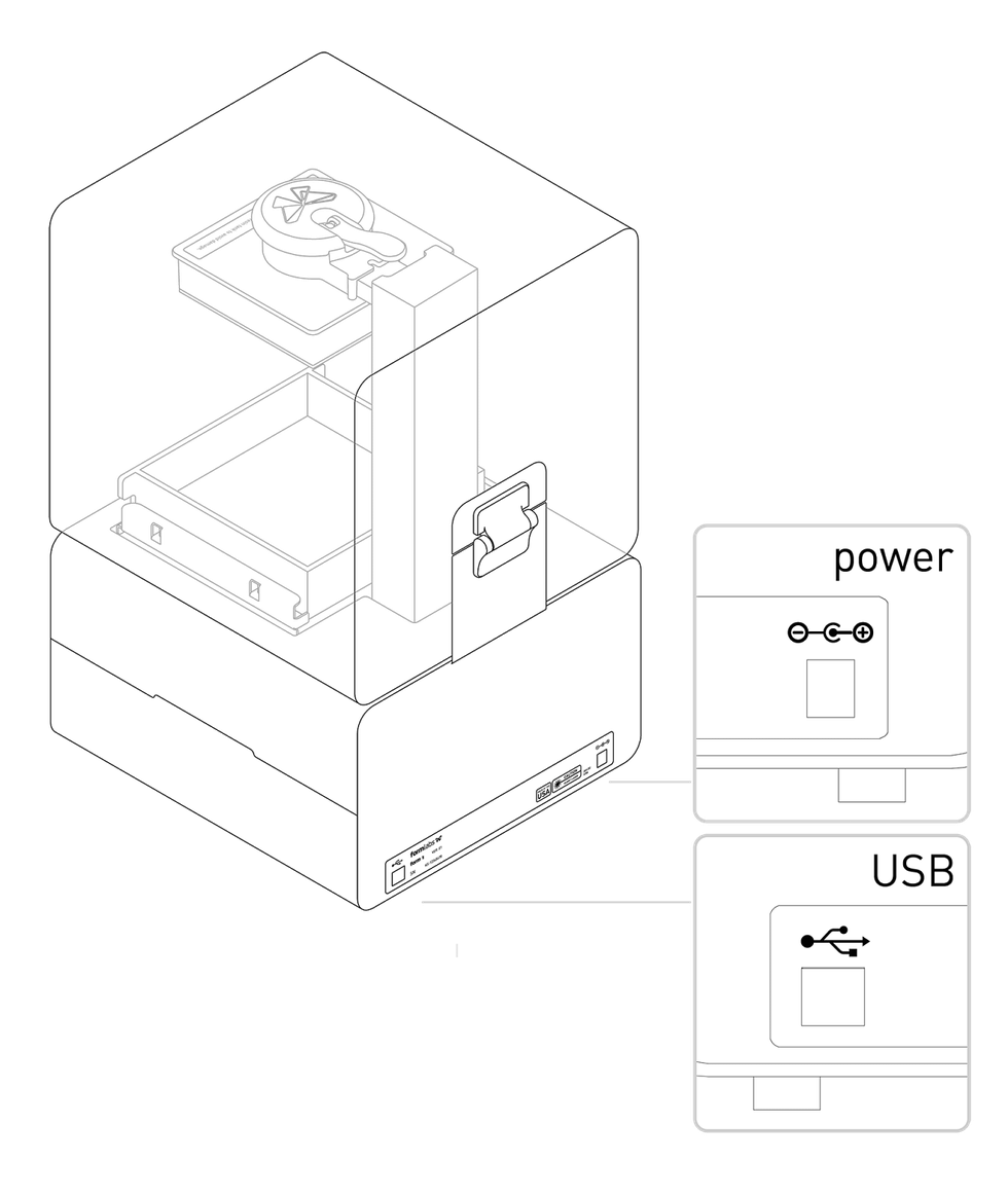 printer usb cable not recognized