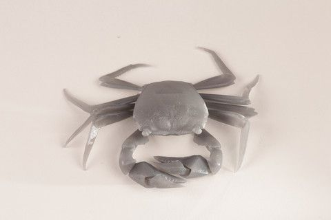 Brian Chan's 3D printed articulated crab