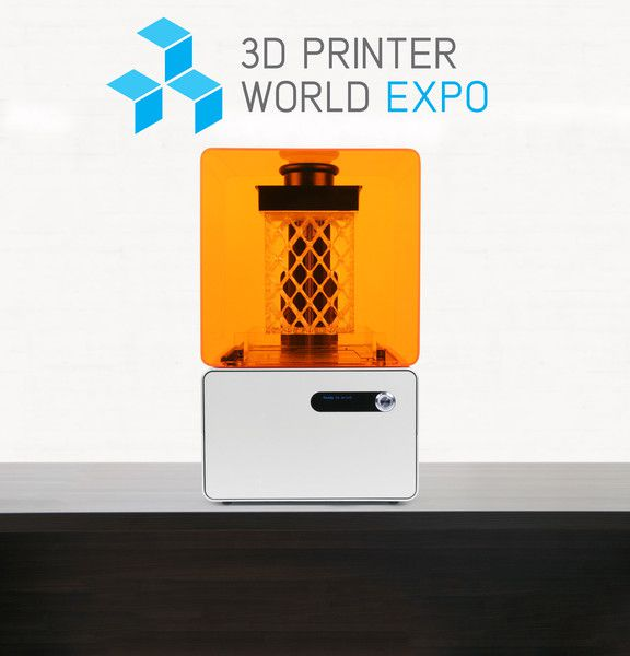 Form 1 at 3D Printer World Expo Burbank
