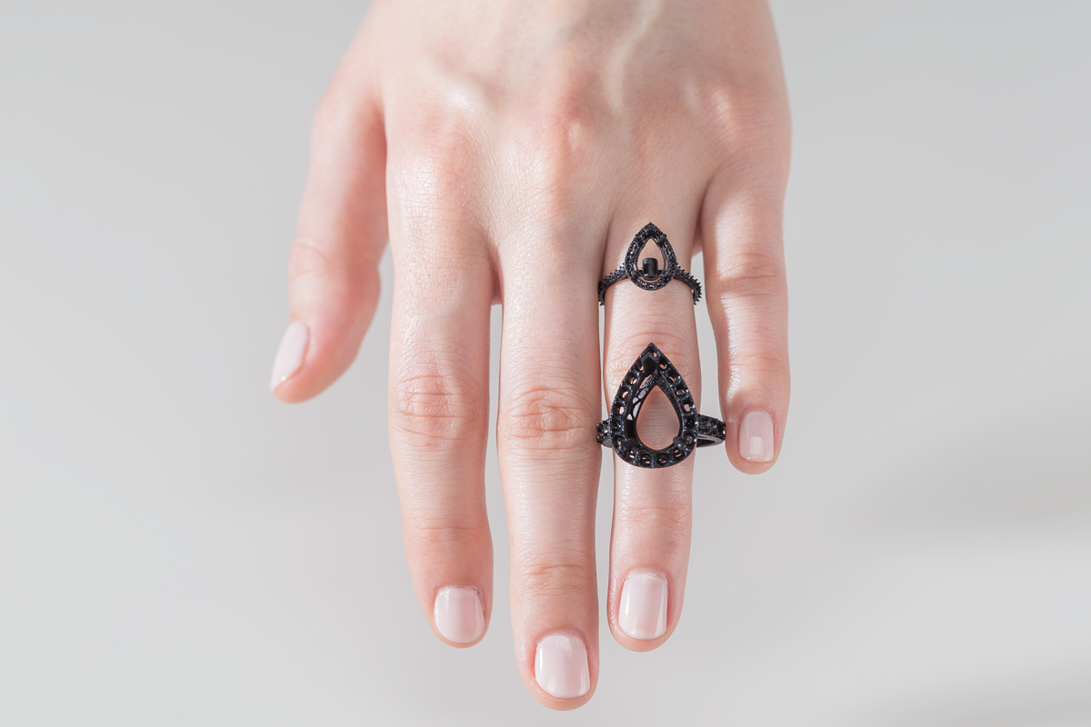 Custom Jewelry Design with 3D Printing White Paper Formlabs