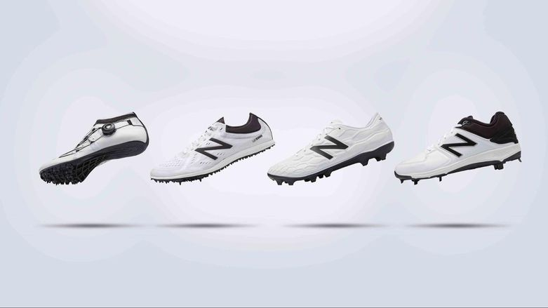 Shoe concepts by New Balance with 3D printed midsoles.