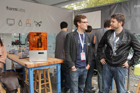 Formlabs at Maker Faire 2012