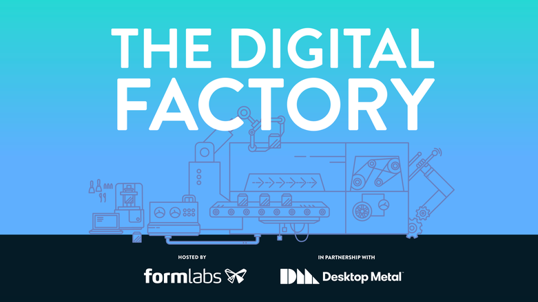 The Digital Factory promotional graphic