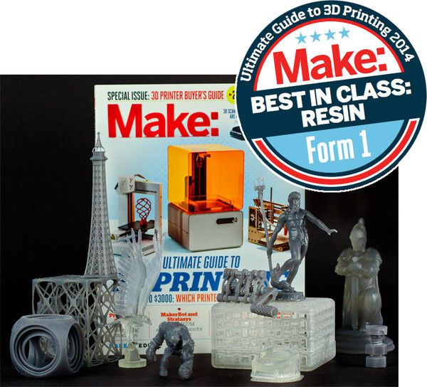 Make Magazine best in class resin