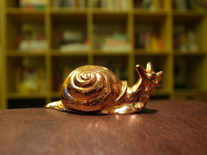 Snail Electroplated on the Orbit1