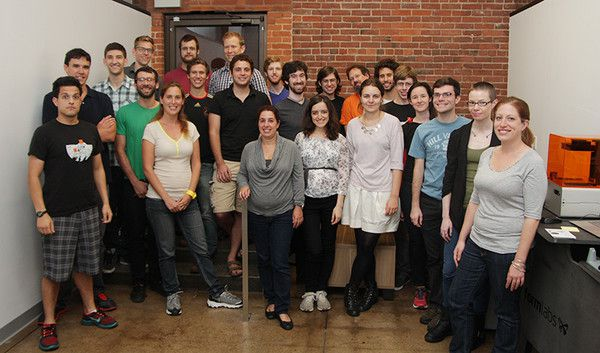 The growing Formlabs team