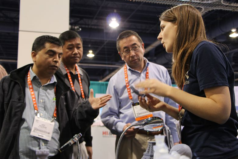 Jenni from Formlabs at CES 2013