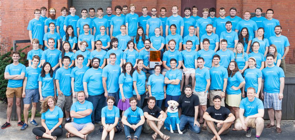 Formlabs Family Photo July 2014