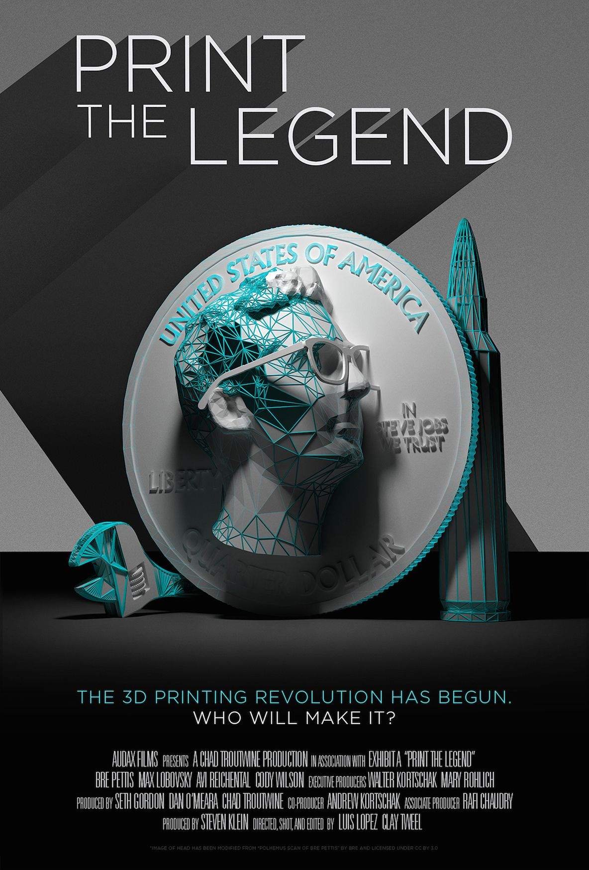 Print the Legend movie poster