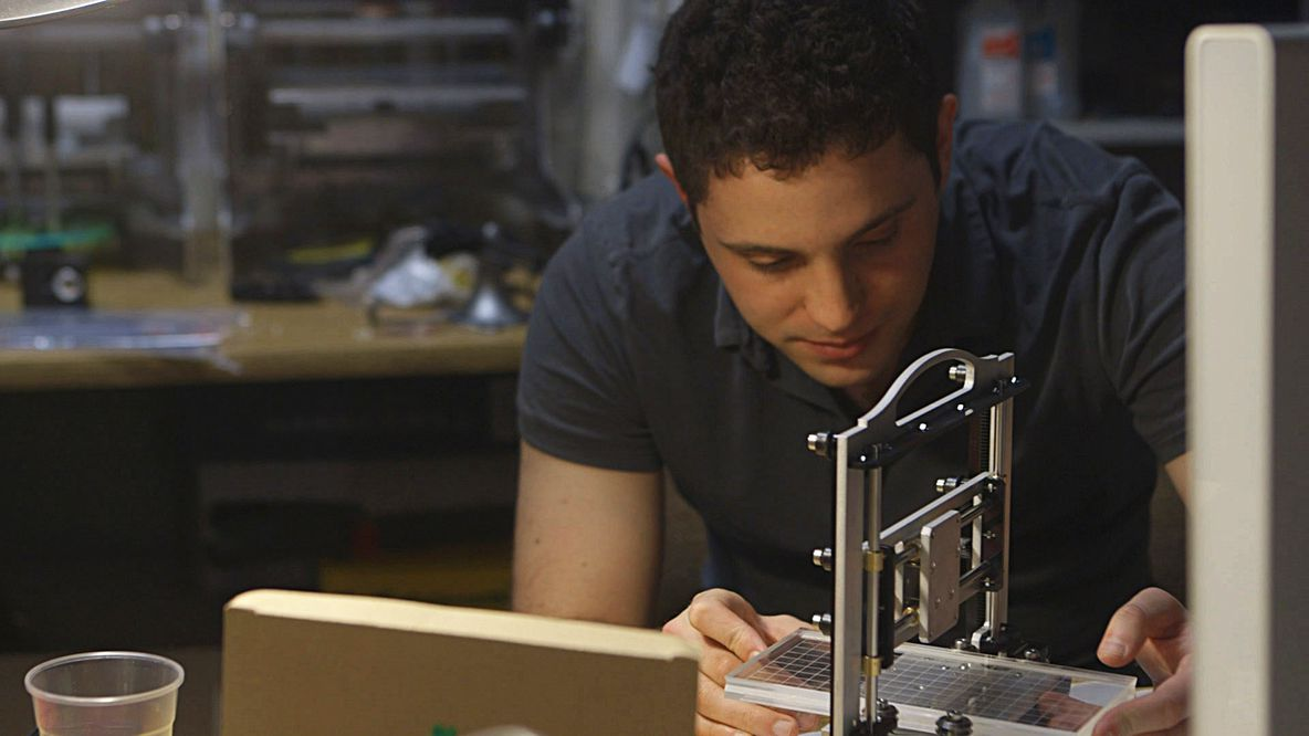 Formlabs CEO Max Lobovsky in the Print the Legend Trailer