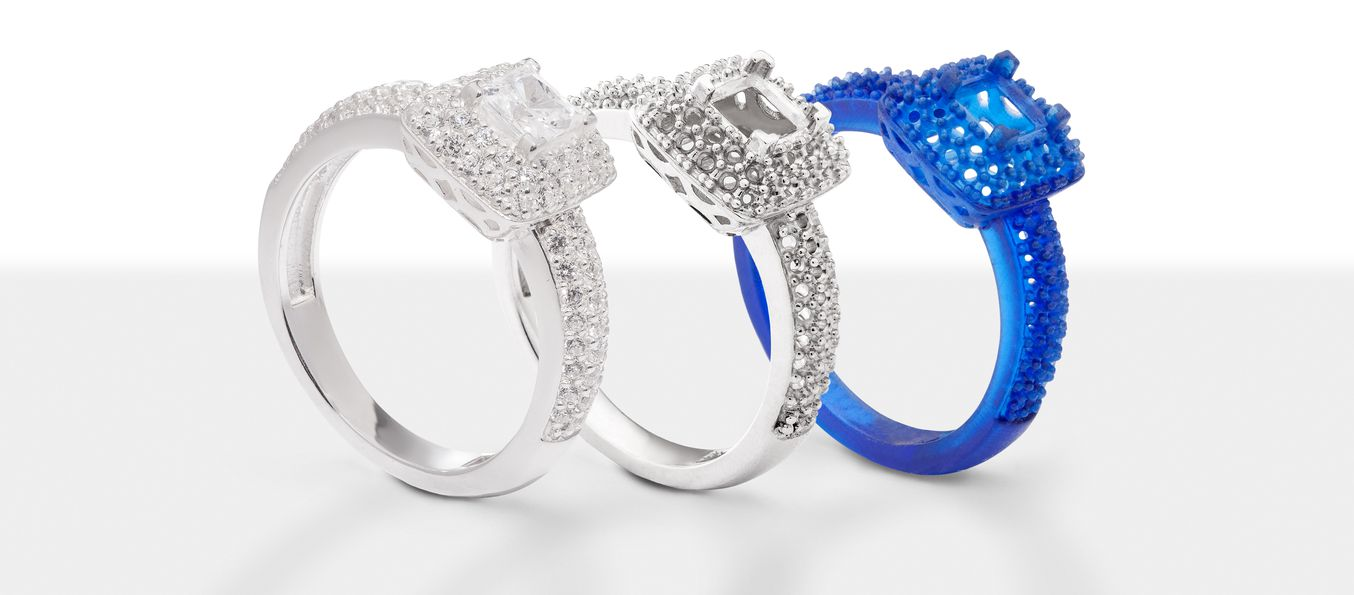 sapphire ring printed bridal cut bezel rings engagement wedding nodeform by white set princess dsc products