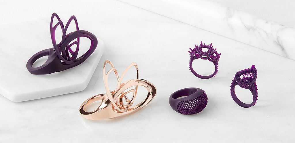 3d Print High Detail Jewelry With New Castable Wax Resin Formlabs