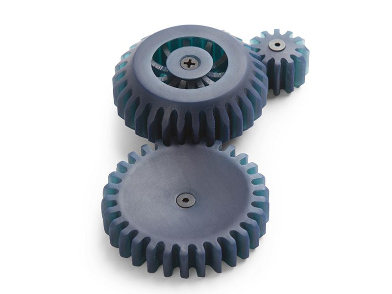 3D printed gears in tough resin