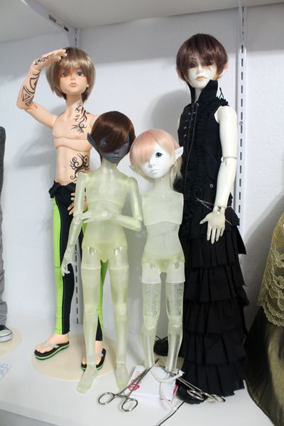 Catherine Hajek ball-jointed dolls