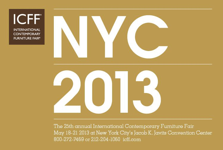 Form 1 at International Contemporary Furniture Fair (ICFF) in New York