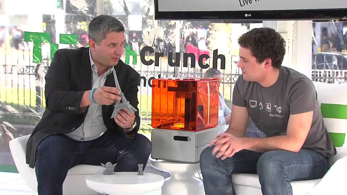 Max Lobovsky interviewed by TechCrunch at CES 2013