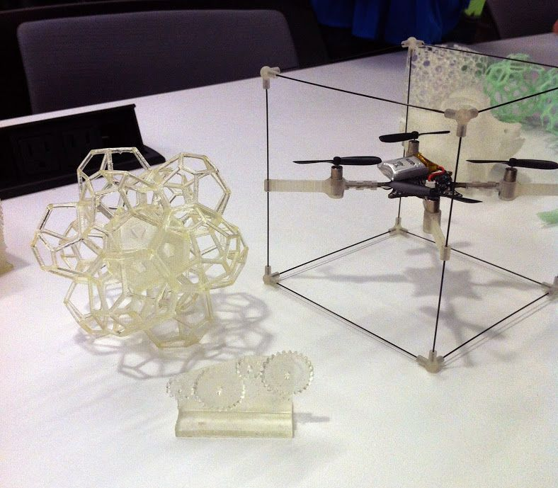 3D printed student projects from Mediated Matter's course