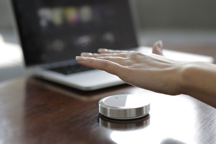 Nuimo, the smart home device 3D printed on Form 1+