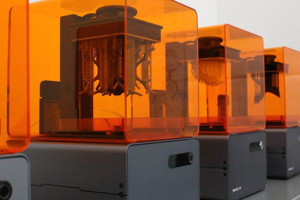 Formlabs Print Farm at ACADIA 2014