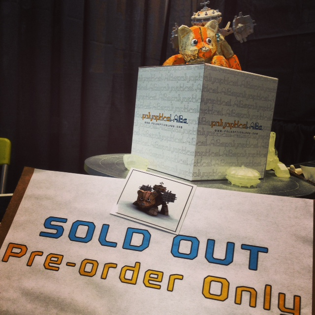 Sold Out rover at NYCC