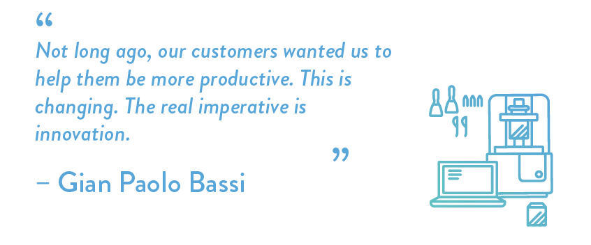 Not long ago, our customers wanted us to help them be more productive. This is changing. The real imperative is innovation.