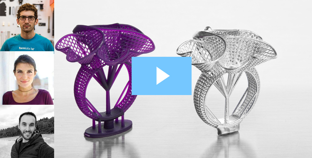 [Webinar] How To Print and Cast Jewelry With Castable Wax Resin