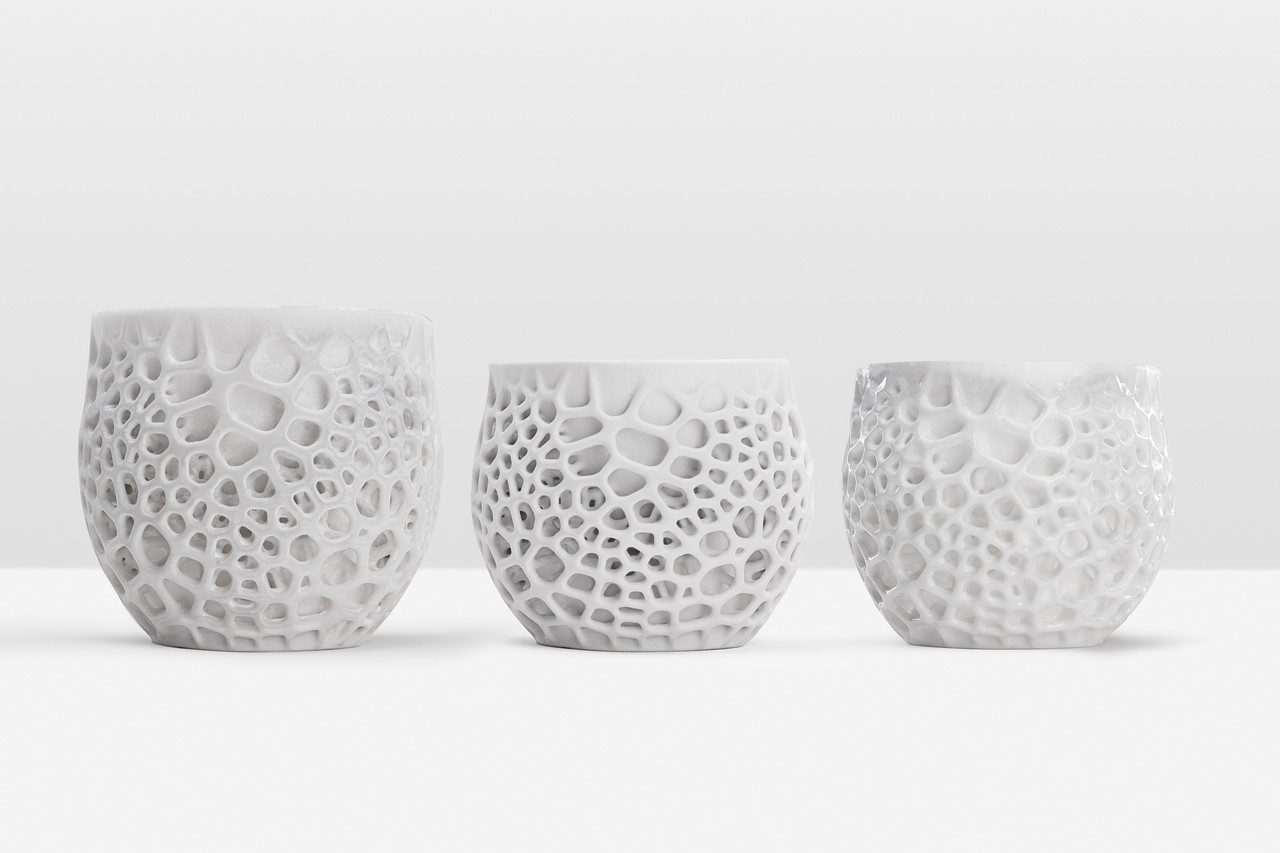 Ceramic Resin, an experimental material we showed off for the first time at CES 2017.