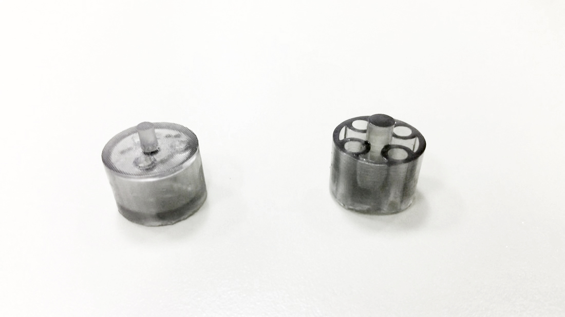Flexible resin prototypes for hospital based simulation
