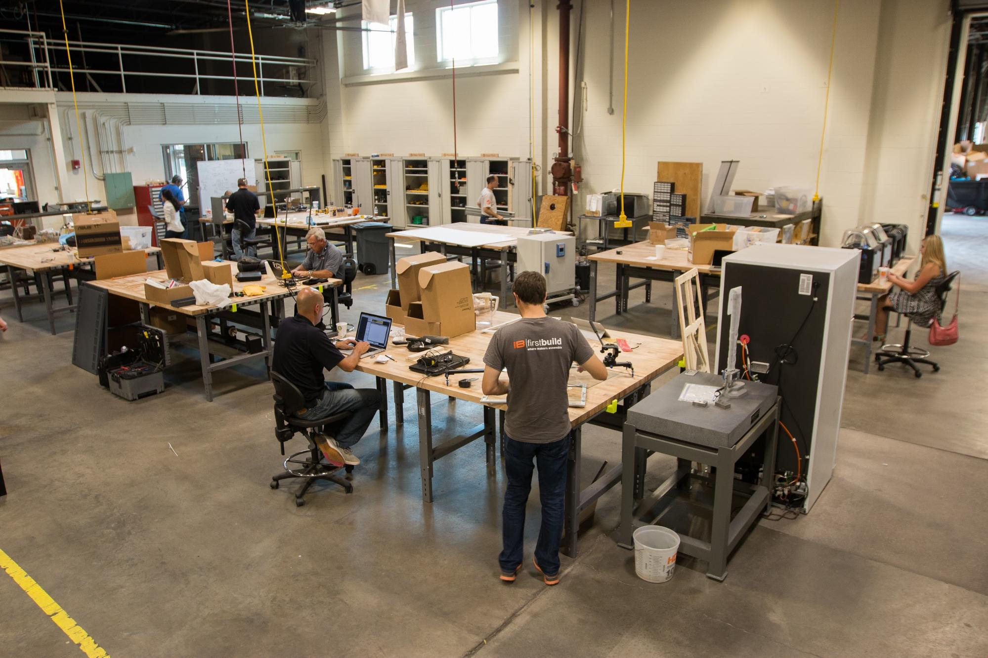 FirstBuild, backed by GE Appliances, runs a microfactory that brings ideas from their online community to life.