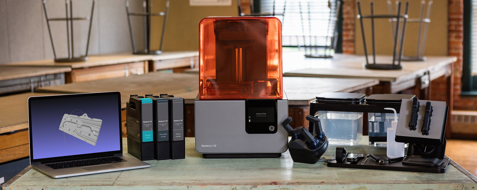 Formlabs' 3D-Drucker Form 2