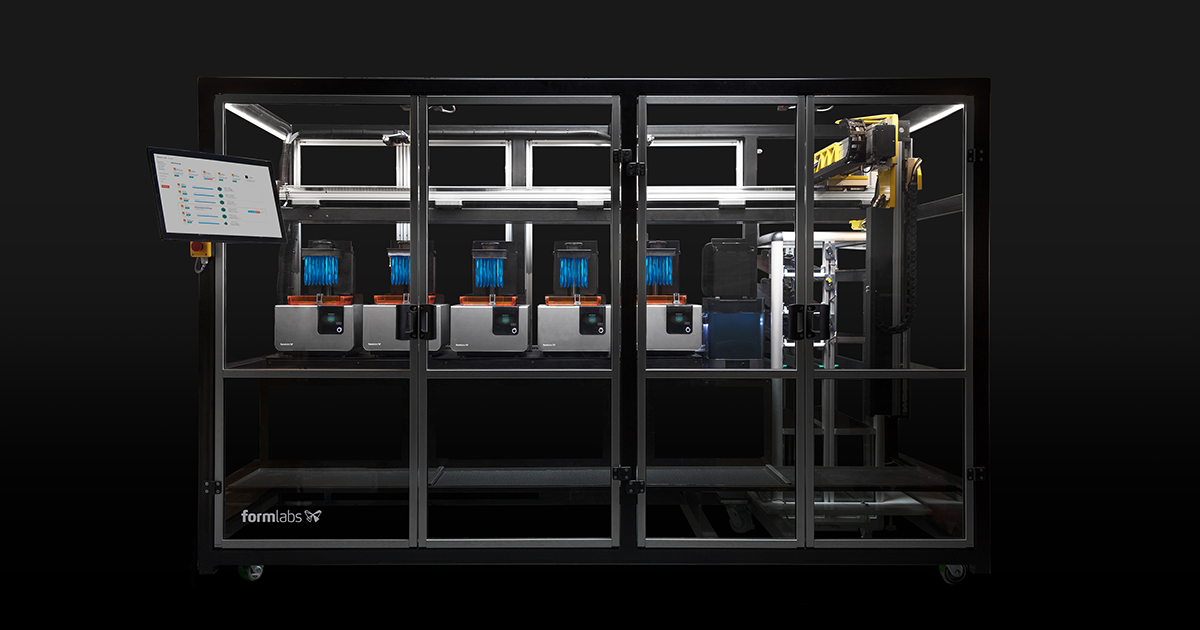 Form Cell Automated 3d Printing Solutions Formlabs