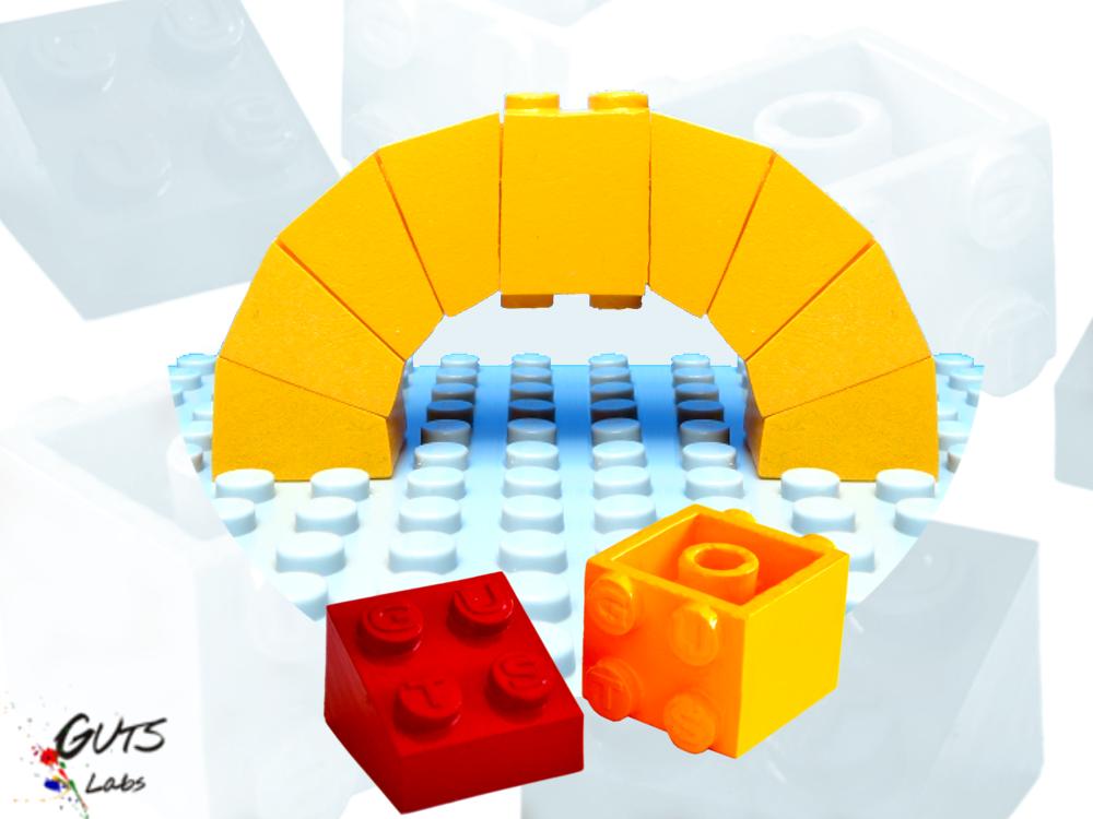 GUTS Labs Angled LEGO Bricks