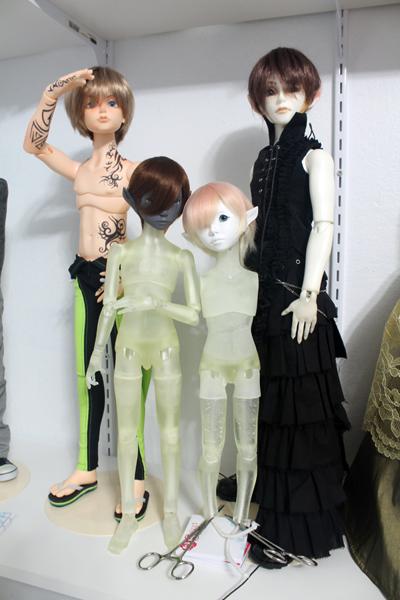 Catherine Hajek ball-jointed dolls
