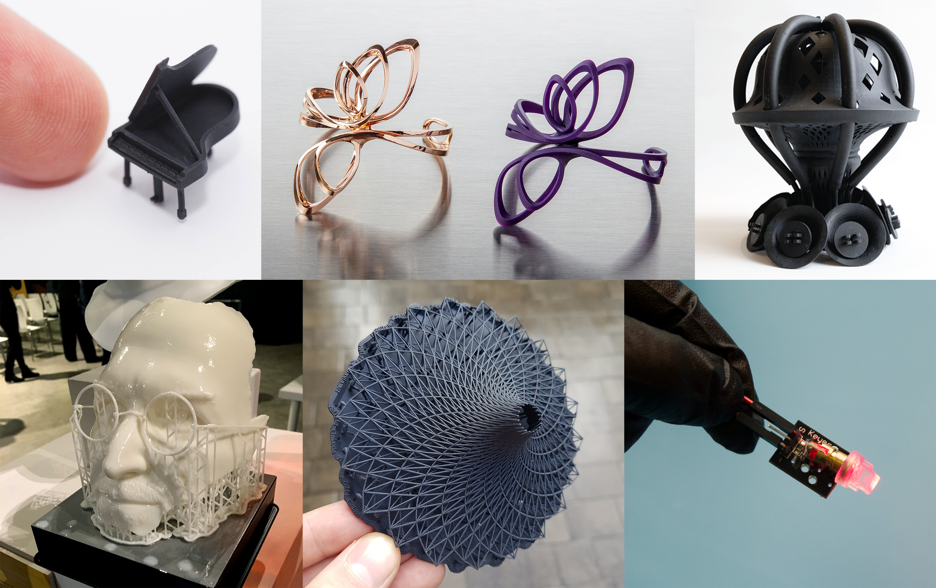 A selection of amazing 3D prints