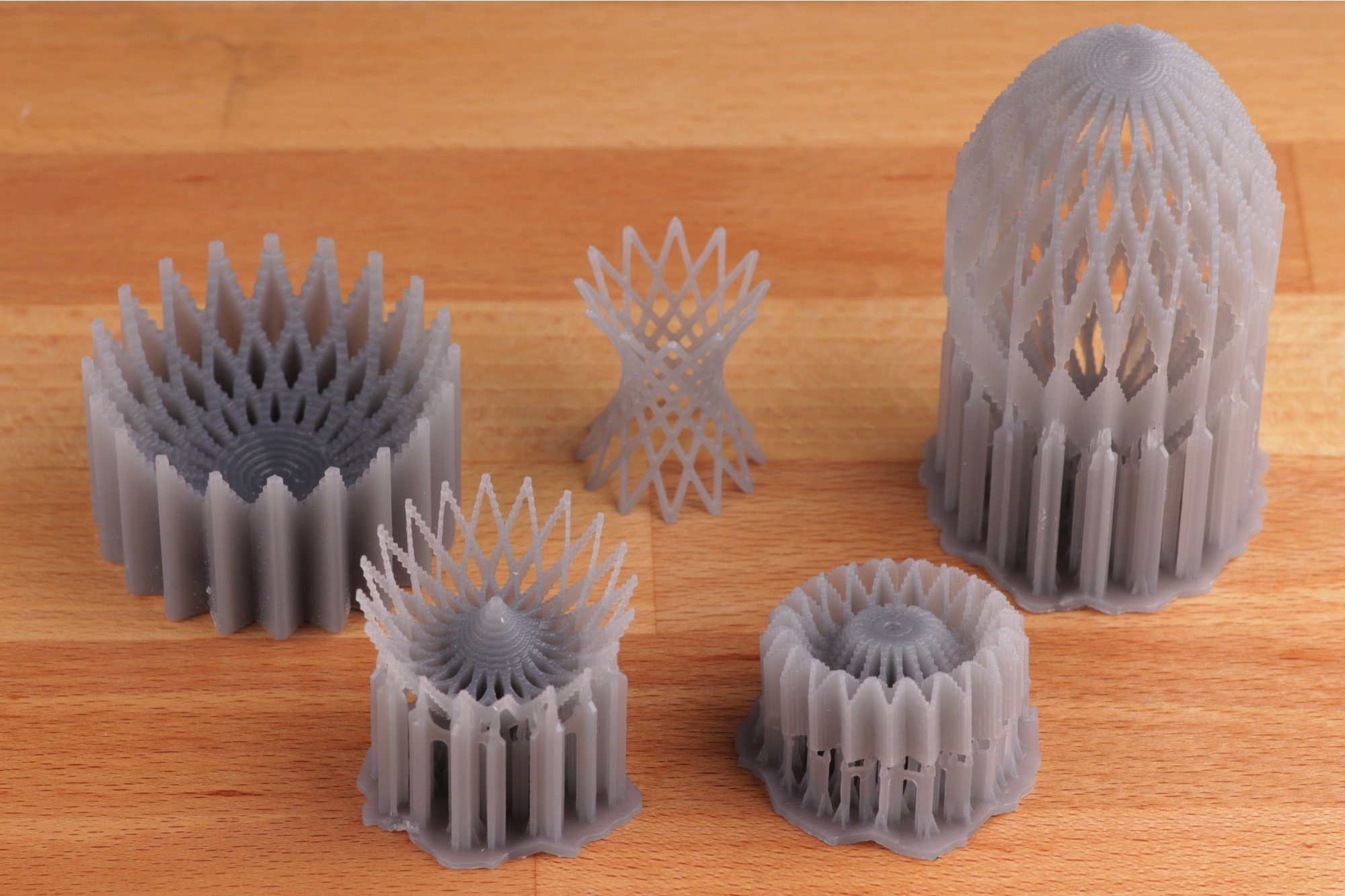 Formlabs at Harvard Graduate School of Design 5 models