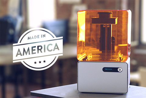 Form 1 3D printer made in America
