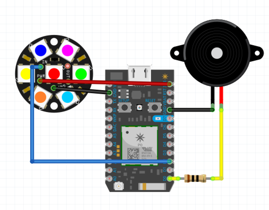 Wiring diagram for the mini Form 2
