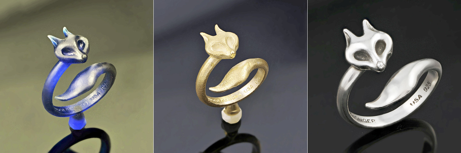 Fox Ring by Monger Designs