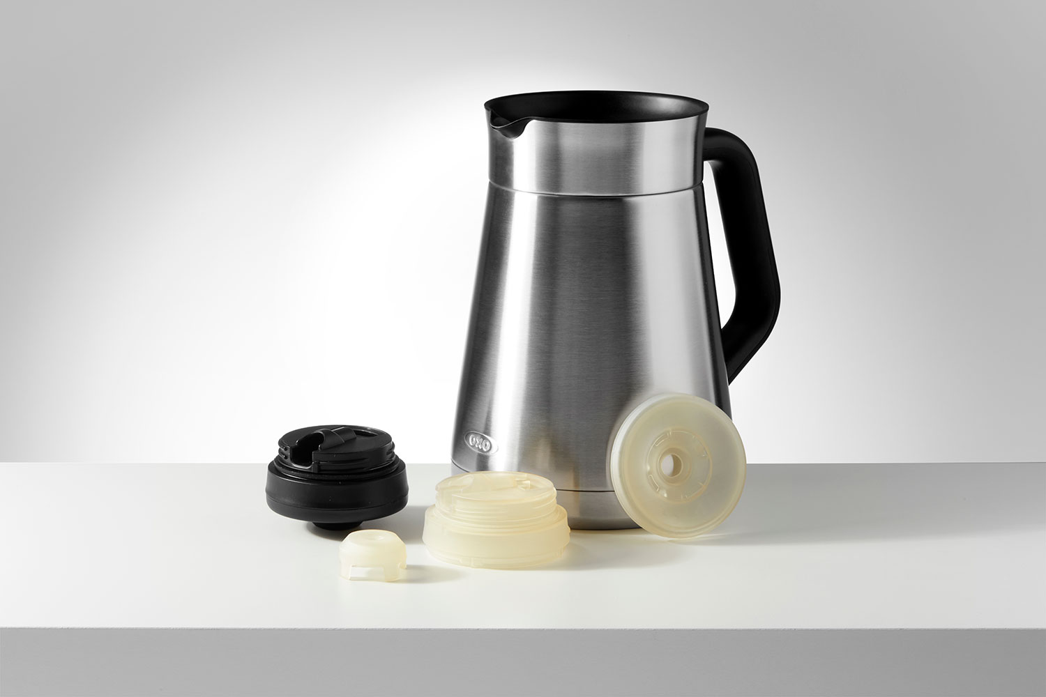 OXO's Barista Brain 9 Cup Coffee Maker and prototype parts printed in High Temp Resin