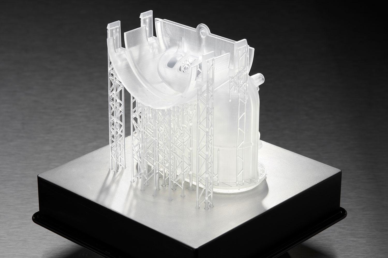 Stuetzstrukturen direkt auf Druckplattform
