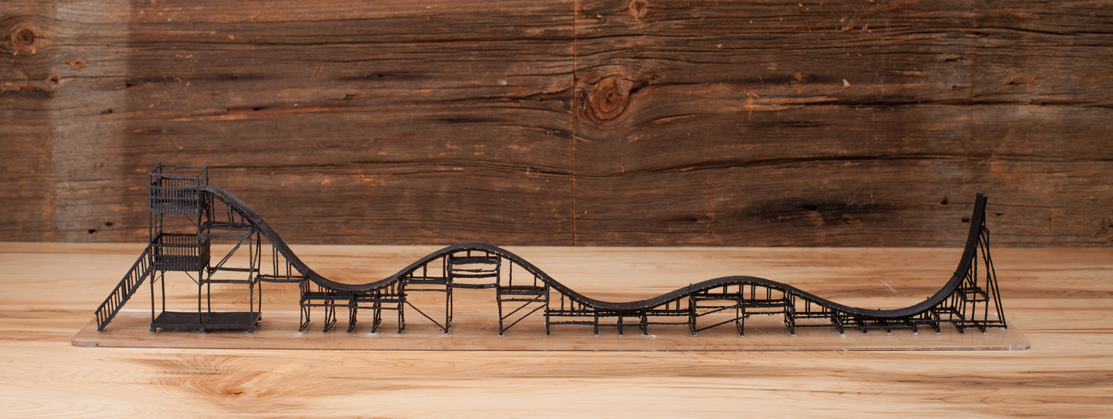 Ben Katz roller coaster model
