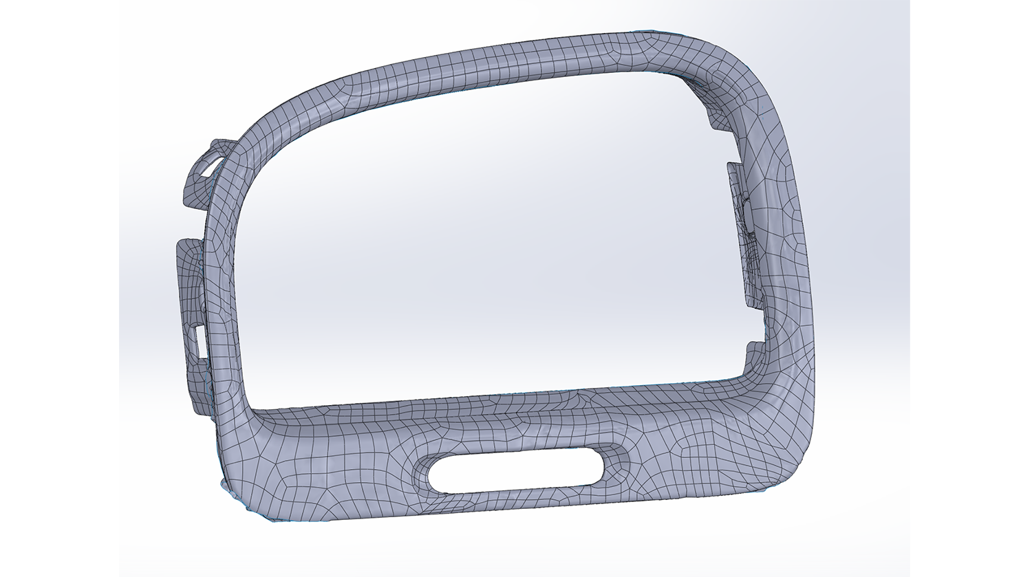 Solidworks automatic surfacing screenshot