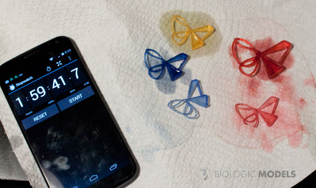 BiologicModels colored butterfly clips